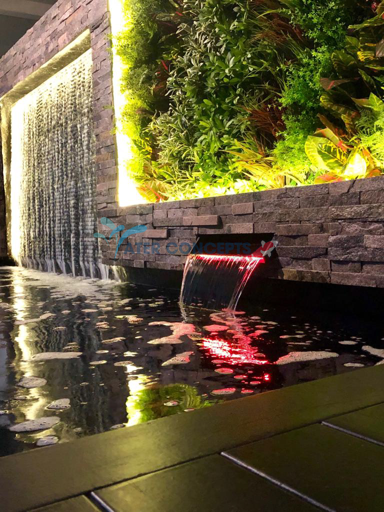 KOI POND AT INTER-TERRACE